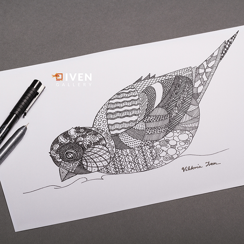 IVEN_Gallery_Viktoria_Iven_Spatz_Muster